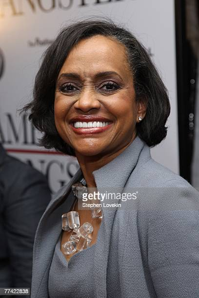 Judge Glenda Hatchett attends the world premiere of American Gangster at the Apollo Theater on October 19 2007 in New York City