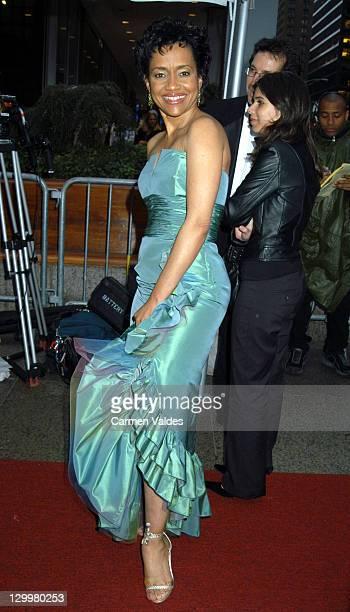 Judge Glenda Hatchett during 30th Annual Daytime Emmy Awards Arrivals at Radio City Music Hall in New York City New York United States