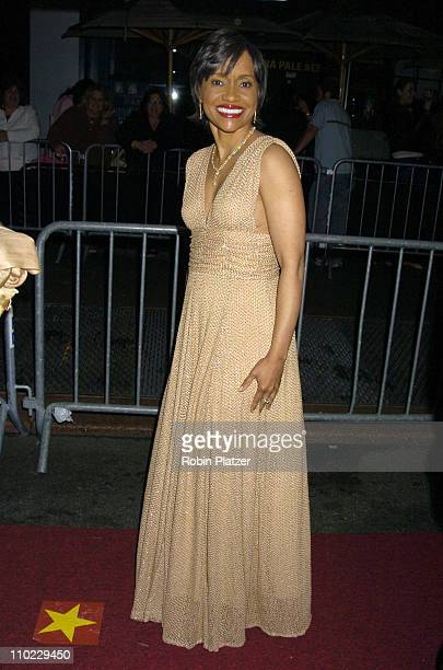Judge Glenda Hatchett during 32nd Annual Daytime Emmy Awards Outside Arrivals at Radio City Music Hall in New York City New York United States