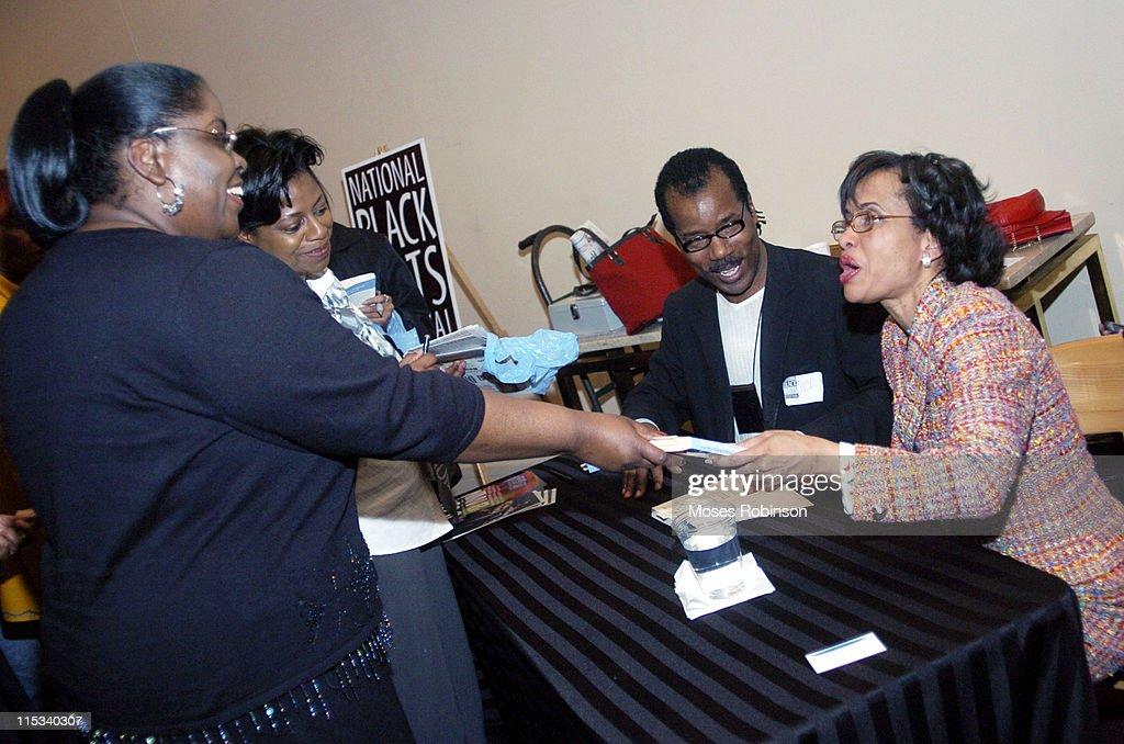 National Black Arts Festival Presents Creatively Speaking with Judge Glenda Hatchett : News Photo