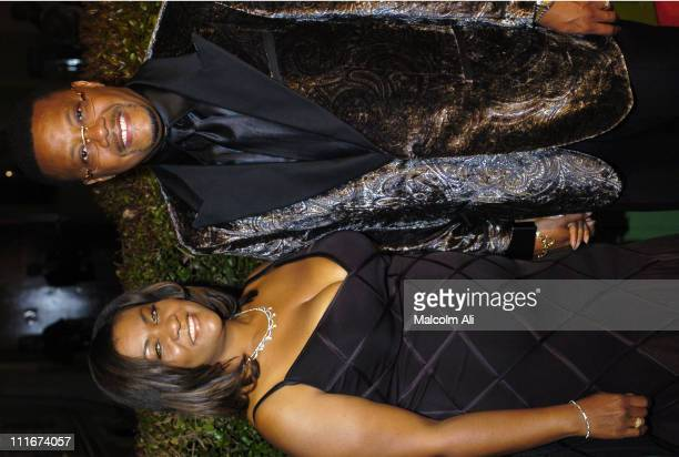 Judge Greg Mathis and wife during 35th NAACP Image Awards Arrivals at Universal Ampitheatre in Universal City California United States