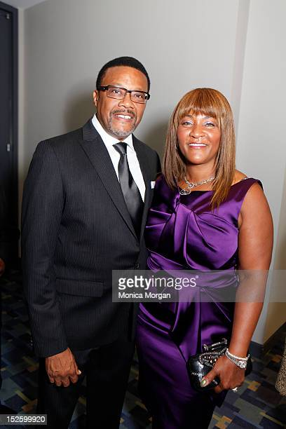 Judge Greg Mathis and wife Linda attend the Phoenix awards dinner during the Congressional Black Caucus Foundation 42nd annual legislative conference...