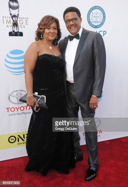 Judge Greg Mathis arrives at the 48th NAACP Image Awards at Pasadena Civic Auditorium on February 11 2017 in Pasadena California