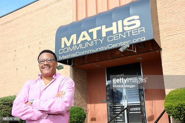 Judge Greg Mathis poses at Mathis Community Center on July 26 2015 in Detroit Michigan