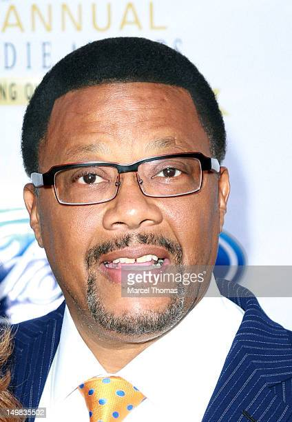 Judge Greg Mathis walks the blue carpet at the 10th Annual Ford Hoodie Awards at MGM Garden Arena on August 4, 2012 in Las Vegas, Nevada.