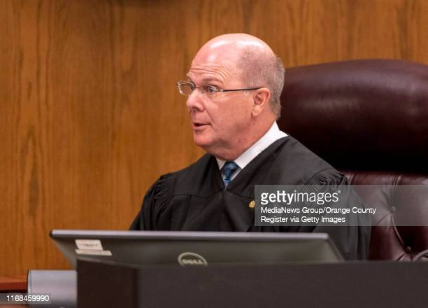 Judge Gregg L. Prickett talks to the jury during the trial of Hossein Nayeri in Newport Beach, CA on Friday, August 16, 2019. Nayeri was found guilty...