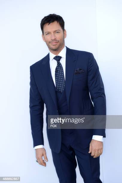 Judge Harry Connick Jr backstage at American Idol XIII Top 4 To 3 Live Elimination Show on May 7 2014 in Hollywood California