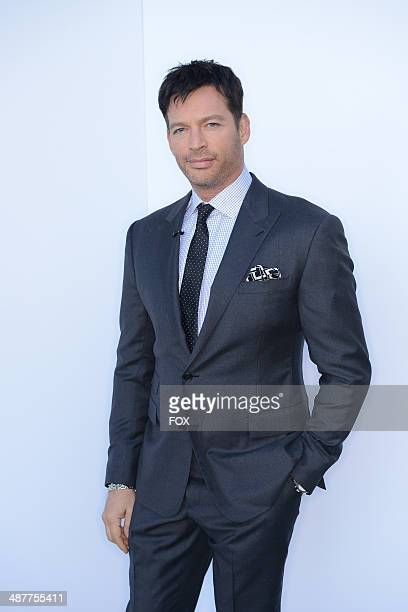 Judge Harry Connick Jr backstage at FOX's American Idol XIII Top 5 to 4 Live Elimination Show on May 1 2014 in Hollywood California