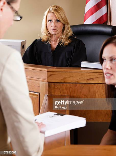 judge in a courtroom - witness stock pictures, royalty-free photos & images