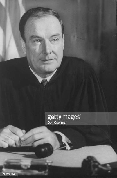 Judge J Skelly Wright who upheld the New Orleans School integration and failed attempts of Segregationalist School Board to block it