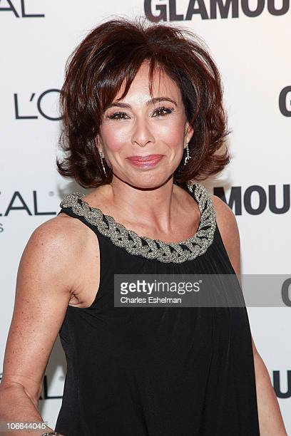 Judge Jeanine Pirro attends the 20th Annual Women of the Year awards hosted by Glamour Magazine at Carnegie Hall on November 8 2010 in New York City