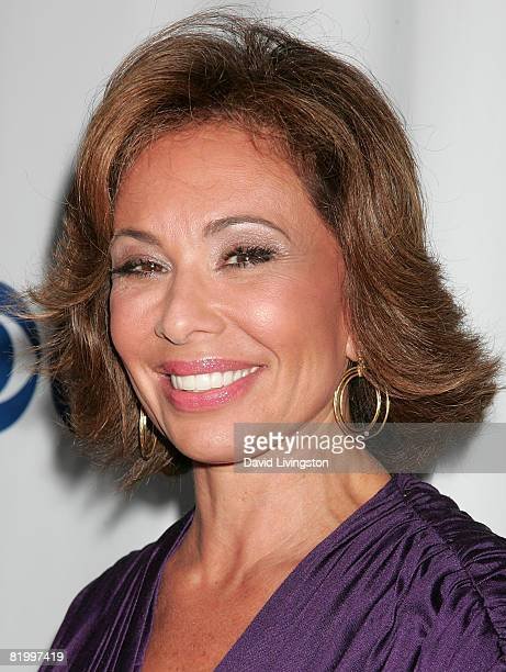 Judge Jeanine Pirro attends the CW/CBS/Showtime/CBS Television TCA party at Boulevard3 on July 18, 2008 in Hollywood, California.