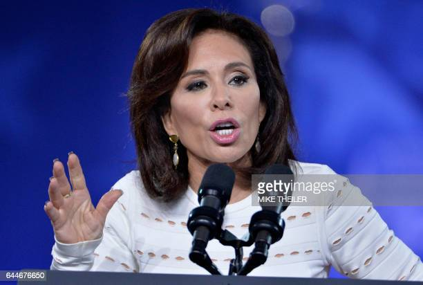 Judge Jeanine Pirro of FOX News Network makes remarks to the Conservative Political Action Conference at National Harbor Maryland February 23 2017...