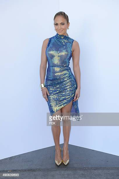Judge Jennifer Lopez backstage at FOX's American Idol XIII Top 3 Live Performance Show on May 14 2014 in Hollywood California