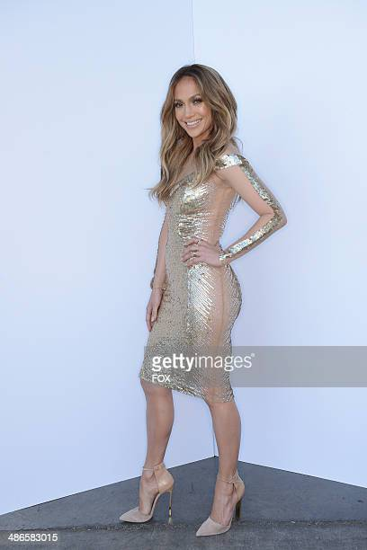 Judge Jennifer Lopez backstage at FOX's American Idol XIII Top 6 to 5 Live Elimination Show on April 24 2014 in Hollywood California