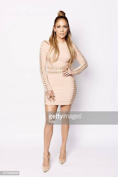 Judge Jennifer Lopez backstage at FOX's 'American Idol XIV' Top 3 Revealed on May 6 2015 in Hollywood California