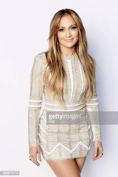 "Judge Jennifer Lopez backstage at FOX's ""American Idol XIV"" Top 6 Revealed on April 15, 2015 in Hollywood, California."