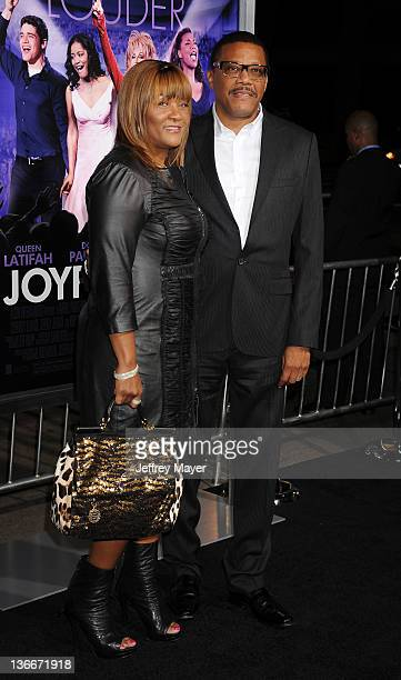 Judge Joe Mathis and Linda Mathis attend the Joyful Noise Los Angeles Premiere at Grauman's Chinese Theatre on January 9 2012 in Hollywood California