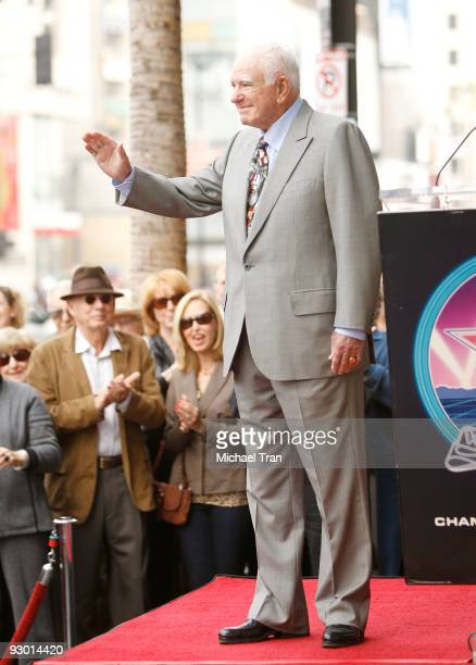 Judge Joseph A. Wapner attends his - 90th Birthday celebration and honoring him with a Star on The Hollywood Walk of Fame held on November 12, 2009...