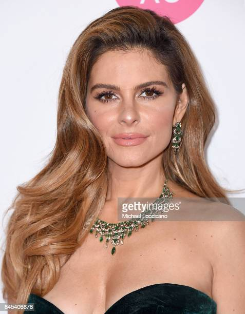 Judge Journalist Maria Menounos attends the 2018 Miss America Competition Red Carpet at Boardwalk Hall Arena on September 10 2017 in Atlantic City...