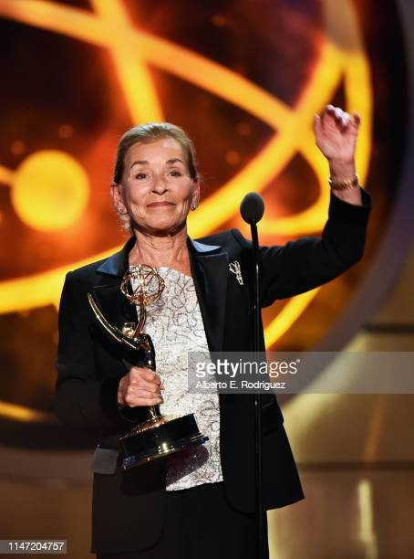 Judge Judy accepts the Lifetime Achievement Award onstage at the 46th annual Daytime Emmy Awards at Pasadena Civic Center on May 05, 2019 in...