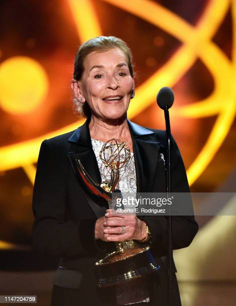 Judge Judy accepts the Lifetime Achievement Award onstage at the 46th annual Daytime Emmy Awards at Pasadena Civic Center on May 05 2019 in Pasadena...