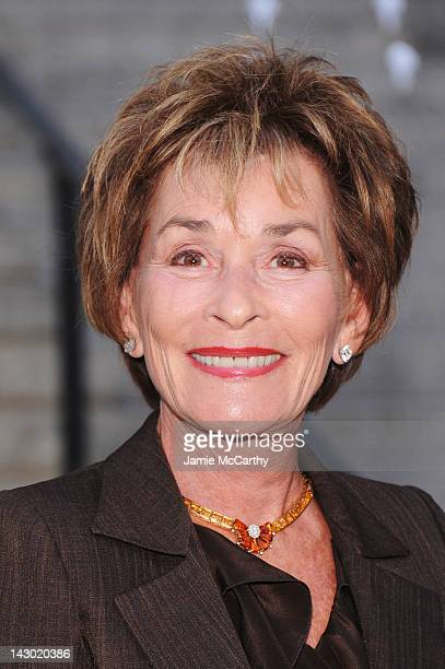 Judge Judy attends the 2012 Tribeca Film Festival at the State Supreme Courthouse on April 17 2012 in New York City