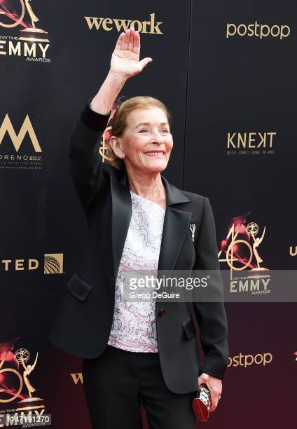 Judge Judy attends the 46th annual Daytime Emmy Awards at Pasadena Civic Center on May 05 2019 in Pasadena California