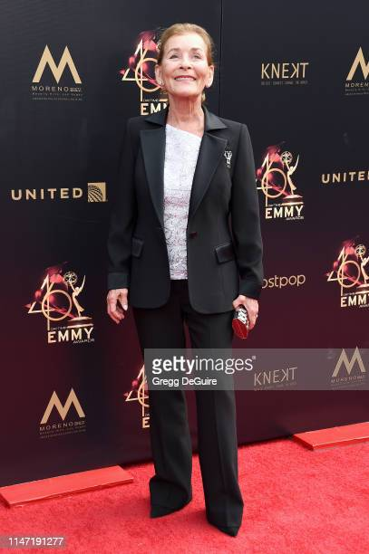 Judge Judy attends the 46th annual Daytime Emmy Awards at Pasadena Civic Center on May 05, 2019 in Pasadena, California.