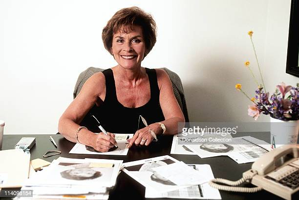Judge Judy Judith Sheindlin poses for a portrait on February 14 1997 in Los Angeles California
