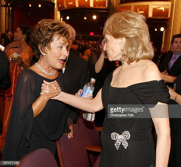 Judge Judy Sheindlin and Barbara Walters *EXCLUSIVE*