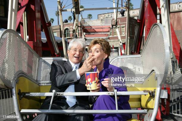 Judge Judy Sheindlin and Judge Jerry Sheindlin *exclusive*