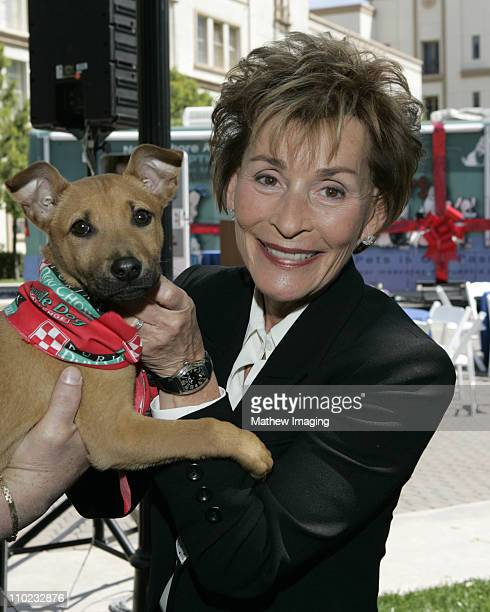 Judge Judy Sheindlin International Spokesperson for North Shore Animal League America's 2005 Tour for Life/Pet Adoptathon which promotes pet...