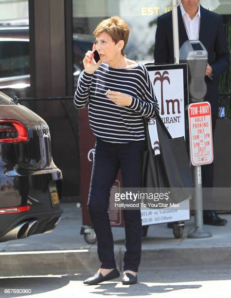 Judge Judy Sheindlin is seen on April 11 2017 in Los Angeles CA
