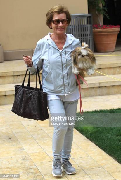 Judge Judy Sheindlin is seen on June 6 2017 in Los Angeles California