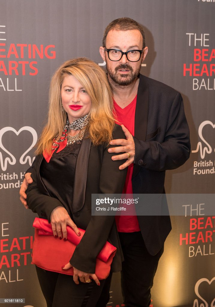 Judge Jules and his wife attends the British Heart Foundation's 'The Beating Hearts Ball' at The Guildhall on February 20, 2018 in London, England.