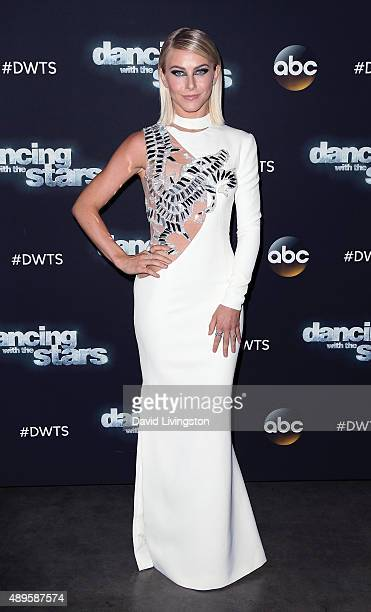 """Judge Julianne Hough attends """"Dancing with the Stars"""" Season 21 at CBS Televison City on September 22, 2015 in Los Angeles, California."""