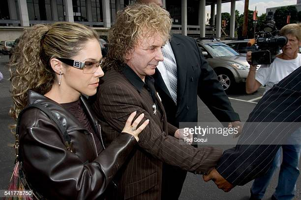Judge Larry Fidler set October 27, 2005 for a hearing on pre-trial motions in the case of 65 year-old record producer Phil Spector, who was indicted...