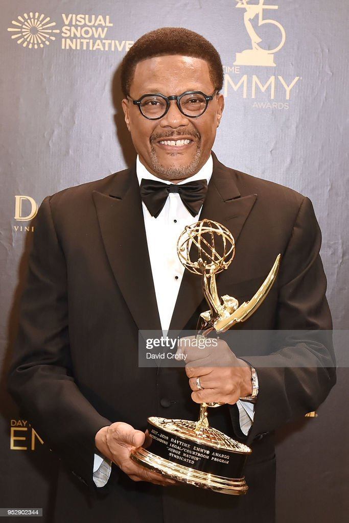 Judge Mathis Attends The 2018 Daytime Emmy Awards Press Room At News Photo Getty Images