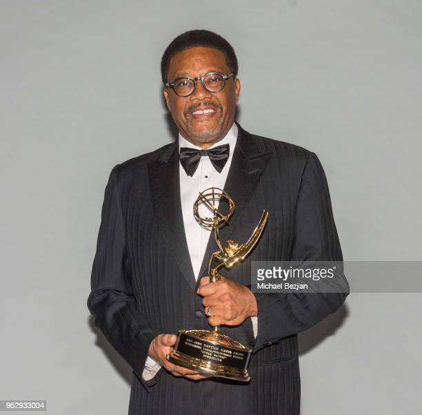 Judge Mathis poses for portrait at 45th Daytime Emmy Awards Portraits by The Artists Project Sponsored by the Visual Snow Initiative on April 29 2018...