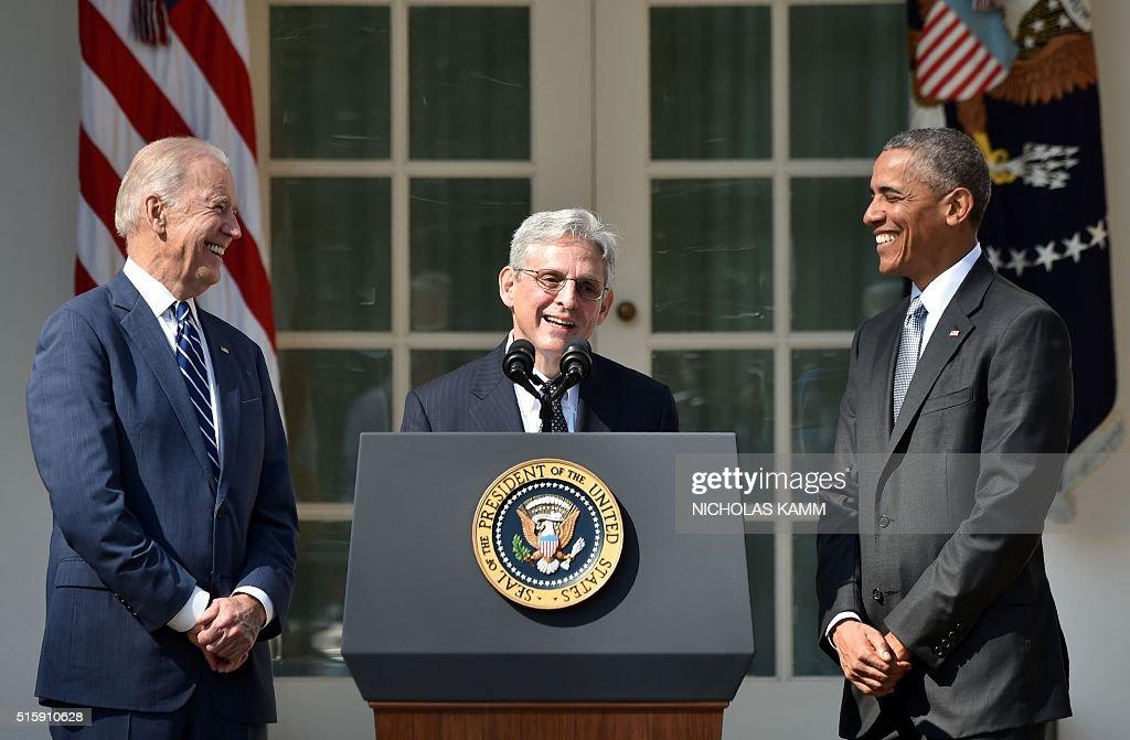 US-JUSTICE-COURT-POLITICS : News Photo