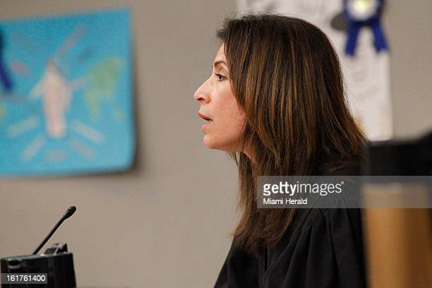 Judge Migna SanchezLlorens issues a $77000 bond for 20yearold Karlie Tomica who was officially charged with DUI manslaughter Friday February 15 in...