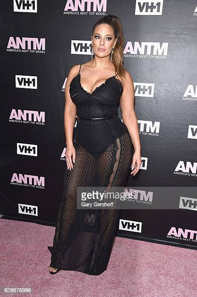 ANTM judge model Ashley Graham attends VH1's 'America's Next Top Model' premiere at Vandal on December 8 2016 in New York City