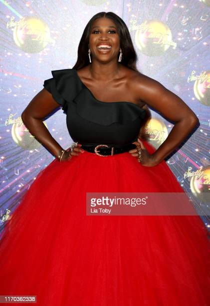 """Judge Motsi Mabuse attends the """"Strictly Come Dancing"""" launch show red carpet at Television Centre on August 26, 2019 in London, England."""