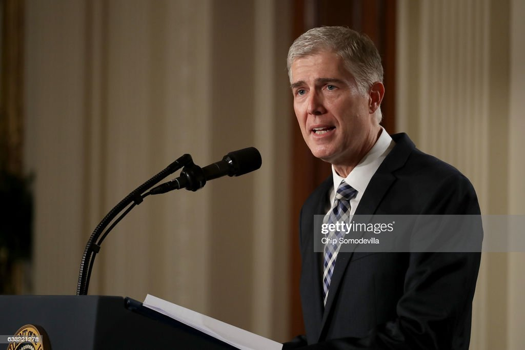 President Trump Announces His Supreme Court Nominee : News Photo