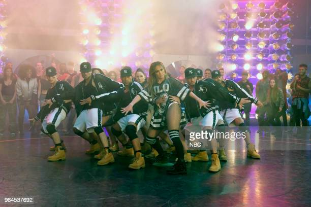 DANCE Judge Performance Pictured Jennifer Lopez