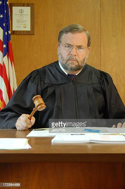 Judge Pounds His Gavel