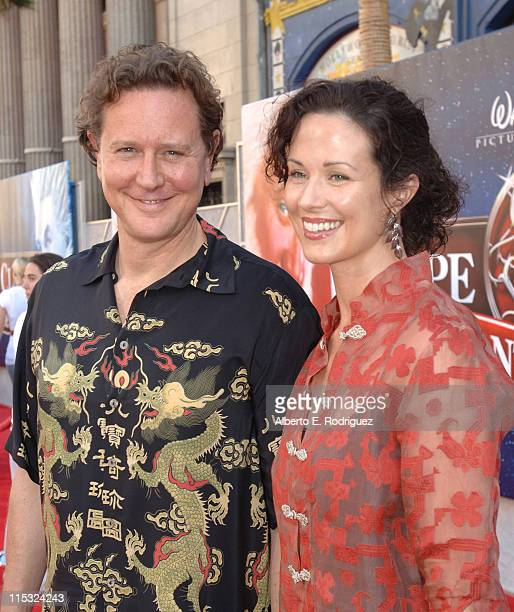 Judge Reinhold and Amy Miller wife during 'The Santa Clause 3 The Escape Clause' Los Angeles Premiere Red Carpet at El Capitan in Hollywood...