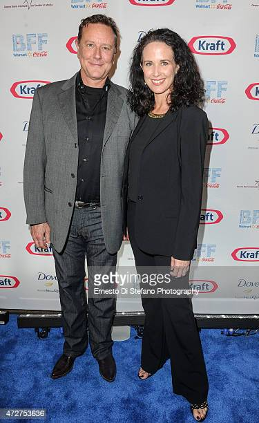 Judge Reinhold and Amy Reinhold attend the Bentonville Film Festival Award Show hosted by Soledad O'Brien and Nick Cannon at the Bentonville Film...