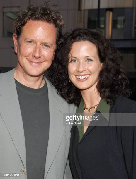 Judge Reinhold and Amy Reinhold during 'Akeelah and the Bee' Los Angeles Premiere Red Carpet at The Academy of Motion Picture Arts and Sciences in...